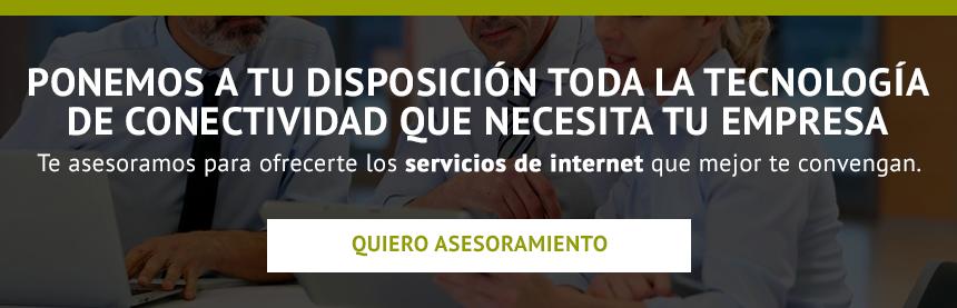 servicios fibra óptica e Internet para empresas