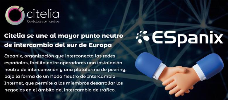 ESpanix nodo neutro de intercambio de trafico